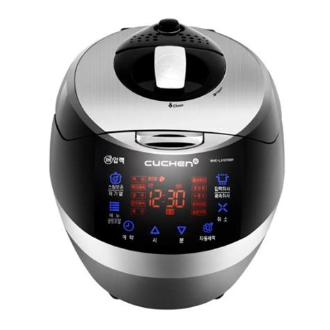 Rice Cooker Korea korean rice cooker cuchen black ih pressure