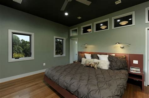 Pistachio Bedroom by Master Bedroom Has A Pistachio Wall Color And Inviting Hardwood Floors The Windows In