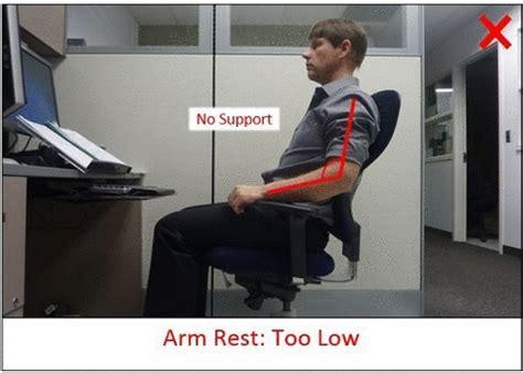 Correct Desk Height Office Ergonomics Safety Office University Of Waterloo