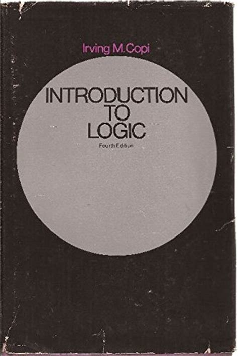 logic a introduction introductions books buy irving m copi books buy books net
