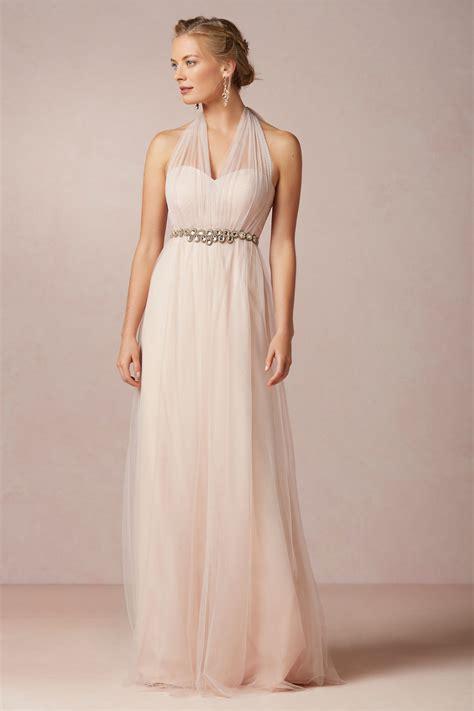 Blush Bridesmaid Dress by Wedding Trend Blush Bridesmaid Dresses Wedding Colors