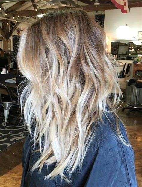 ombre balayage color melt blonde highlights long bob die besten 17 ideen zu balayage auf pinterest keratin