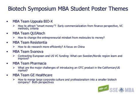 Biotech Mba Programs by Uppsala Biotech Master Overview