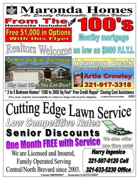 how to advertise your lawn service or landscaping company lawn