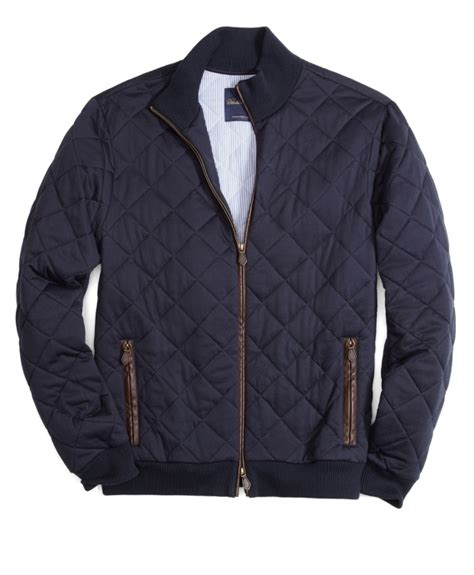 Quilted Bomber by Quilted Knit Bomber Brothers
