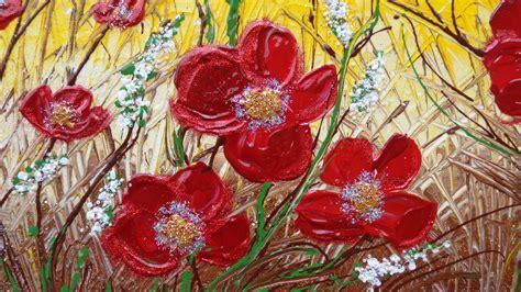 dipinti di fiori moderni fiori ricanti vendita quadri quadri