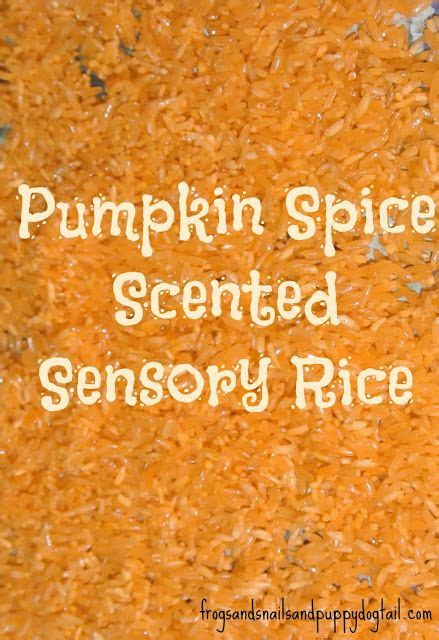 orange spice color pumpkin spice sensory rice recipe soaps the o jays and spices