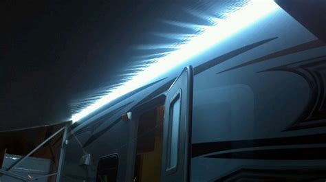 led lights for cer awning rv awning lights led awning lights are awesome