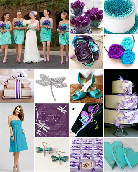 purple and turquoise wedding ideas enchanting weddings
