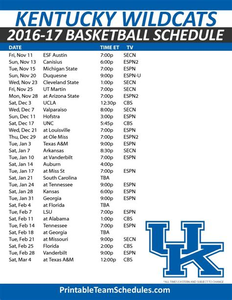uk basketball schedule iphone best 25 kentucky wildcats schedule ideas on pinterest