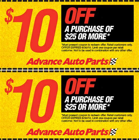 Advance Auto Parts Coupons & Deals