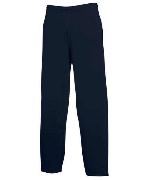 fruit of the loom sweatpants fruit of the loom s classic open hem adults trouser