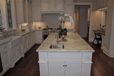 Eat In Kitchen Island super white quartzite bathroom traditional with super