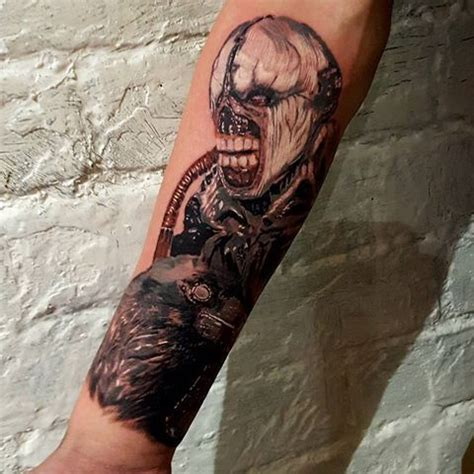 resident evil tattoo 54 best images about resident evil tattoos on