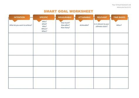 smart goal template peerpex