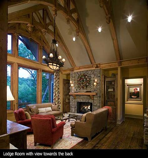 house plans with vaulted great room plan w15651ge award winning gable roof masterpiece e