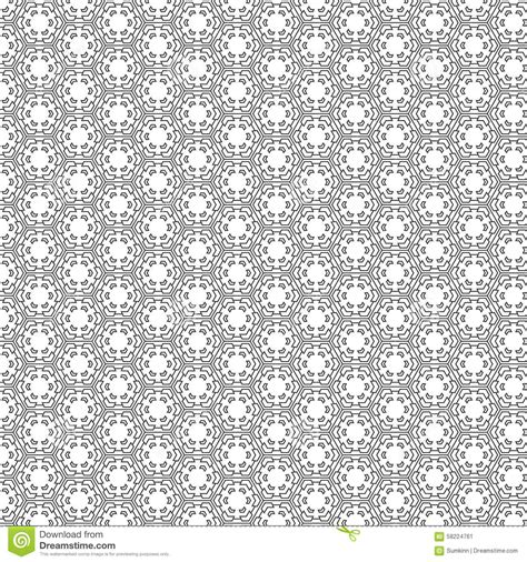 shape repeating pattern vector seamless pattern stock vector image 58224761