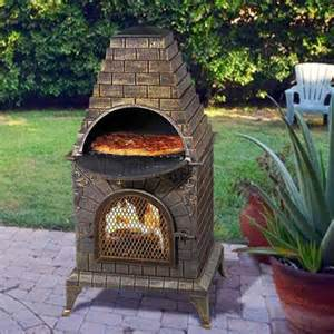 Chiminea Bbq Pizza Oven low price chiminea pit pizza oven garden landscape