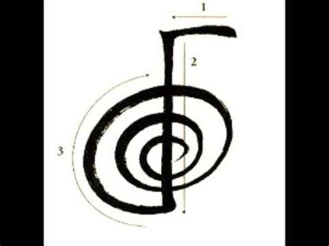 reiki level  attunement cho  rei symbol focus