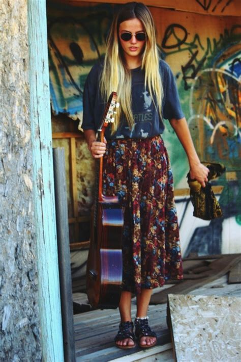 hippie style boho chic style inspirations outfit ideas