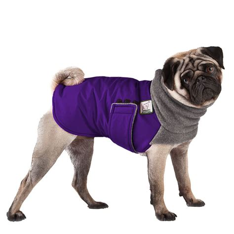coats for pugs pug winter coat winter coat clothing pug clothes