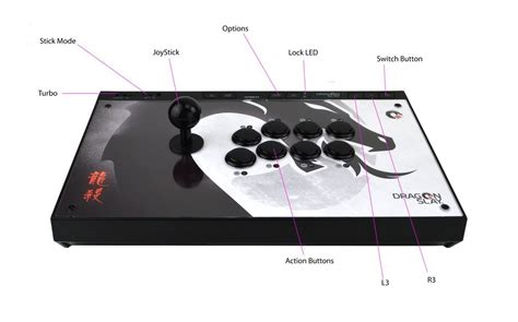 android layout joystick dragon slay universal arcade fight stick controller