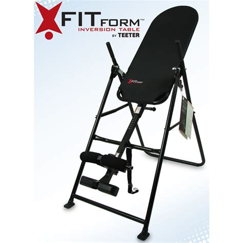 fit inversion table teeter hang ups fitform inversion table review better