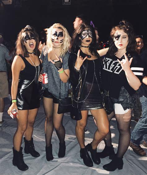 girl group themes for halloween halloween costume diy group costume kiss costume girls
