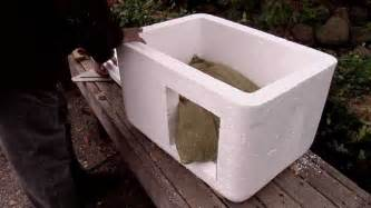 How to make an insulated cat bed house for outdoors youtube