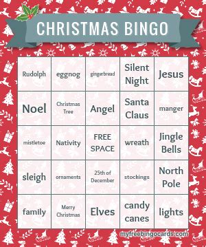 printable christmas bingo card generator free halloween christmas baby shower bingo cards and more