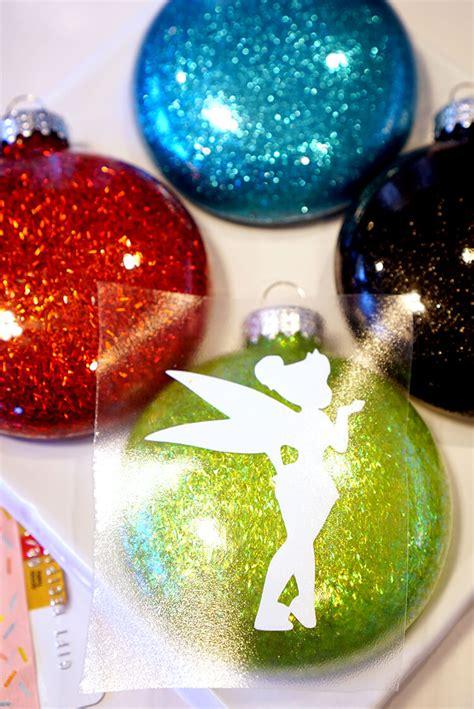 glitter ornament disney glitter ornaments happiness is