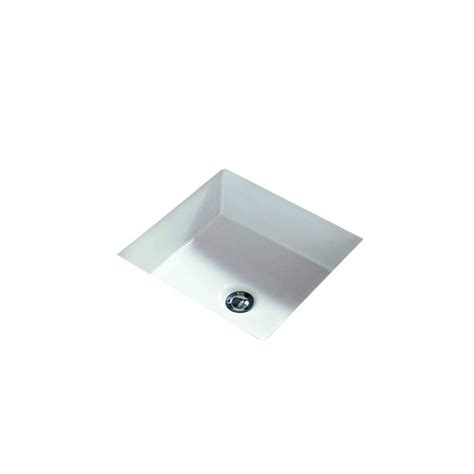 Undermount Bathroom Sink In White Filament Design Cantrio Undermount Bathroom Sink In White