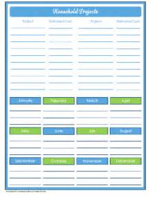 printable household planner pages 9 best images of free household organizer printables