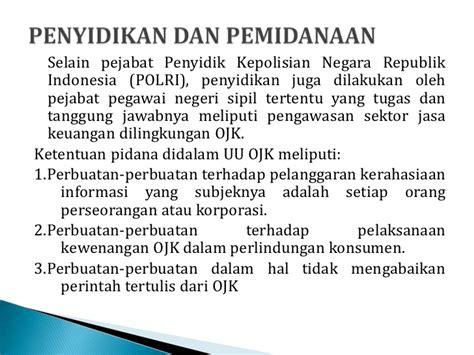 Prinsip Prinsip Hukum Pidana By Eddy O S Hiariej presentasi uu otoritas jasa keuangan