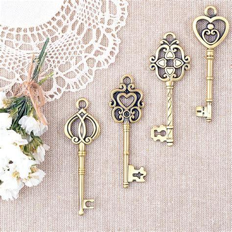 imagenes del estilo retro llaves de bronce estilo vintage para decorar