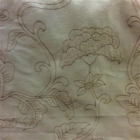 how to clean silk upholstery fabric dupionette embroidery 14 floral faux silk fabric
