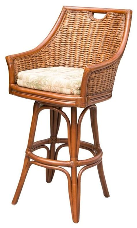 tropical style bar stools counter stool in finish felton cactus tropical