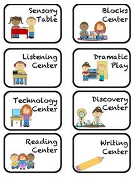 printable classroom area signs center signs center labels classroom and polka dots