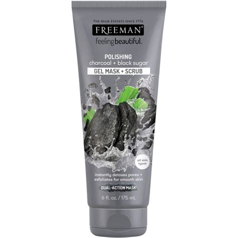 Baby Food Scrub Mask Charcoal freeman charcoal black sugar gel mask scrub 175 ml 163 2 45