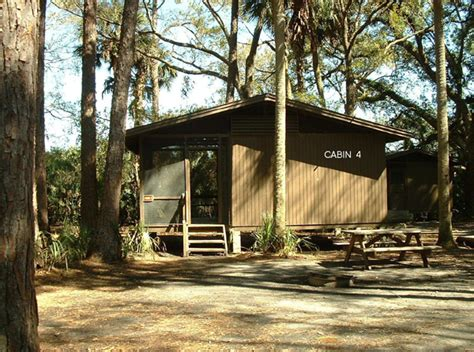 Florida State Park Cabins by Hontoon Island State Park