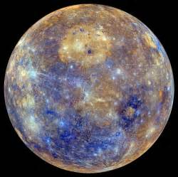 mercury planet color caloris in color an enhanced color view of mercury