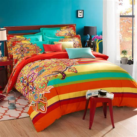 boho twin bedding twin full queen size 100 cotton bohemian boho style beautiful girls comforter sets