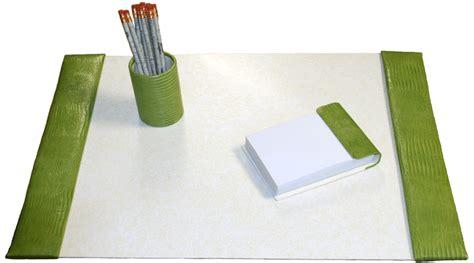 green leather desk pad leather desk pads desk blotters fabric desk blotter