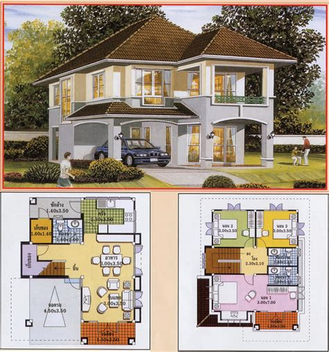 house plan collection architecture art khmer thai villa house plan
