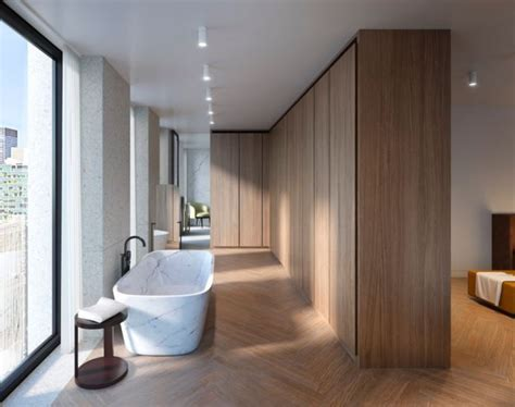Apartments In Nyc With Bad Credit David Chipperfield Designed Apartments At The Bryant In