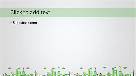 green energy powerpoint template slidesbase
