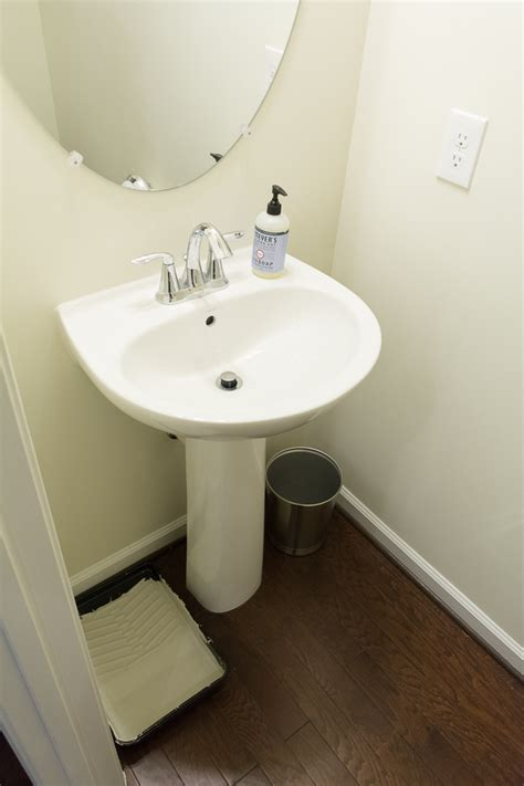 small powder rooms fine homebuilding powder room makeover on a budget 100 room makeover