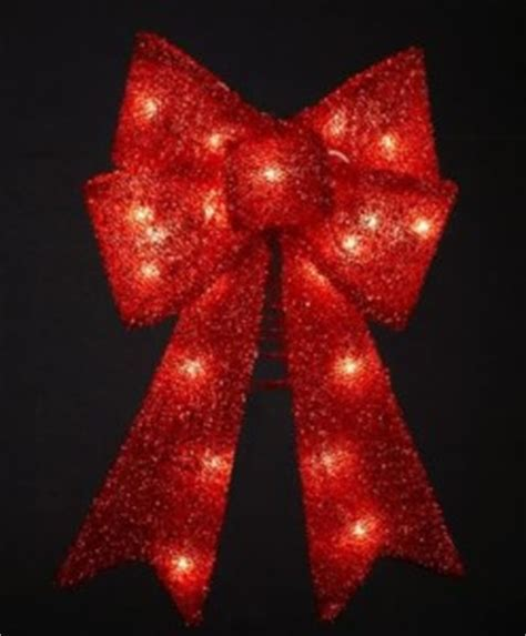 large lighted bow lighted bows holidays