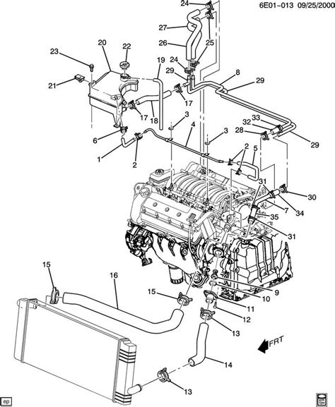 northstar cooling system diagram 2002 cadillac engine diagram 2002 free engine