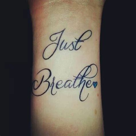 just breathe tattoo designs 37 awesome breathe tattoos